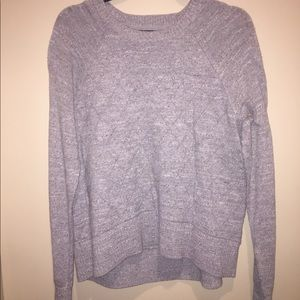 Banana Republic grey pullover